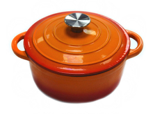 Cast Iron Enamel Casserole Pot