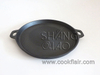 13.5-inch Round Cast Iron Griddle