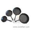 Pre-seasoned Cast Iron Skillet Pan Set of 4