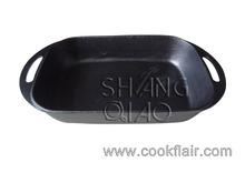 Pre-seasoned Cast Iron Roasting Pan