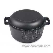 Double Dutch Oven Cast Iron