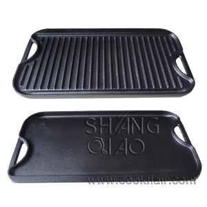 Rectangular Cast Iron Griddle