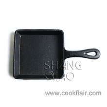 Square Cast Iron Mini Skillet